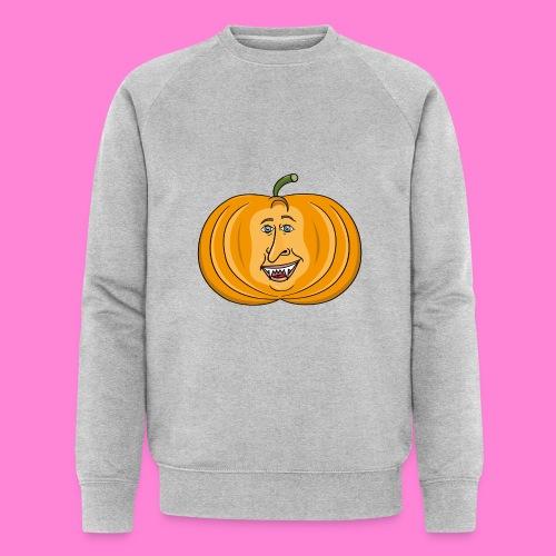 Rick pumpkin - Mannen bio sweatshirt