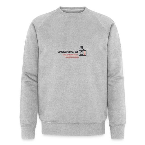 black simple radio outline - Männer Bio-Sweatshirt von Stanley & Stella