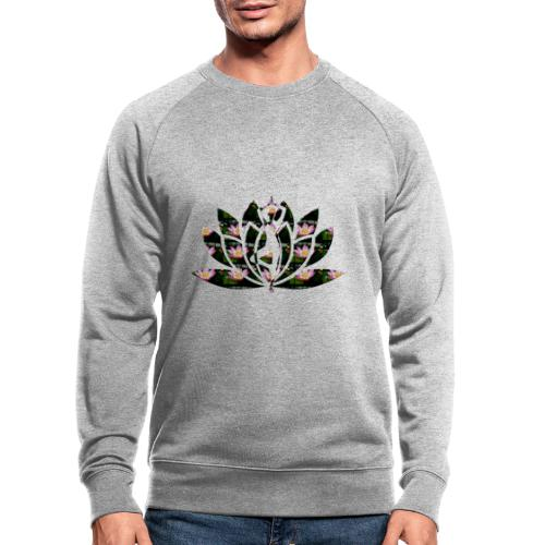 Yoga fleur de lotus - Sweat-shirt bio