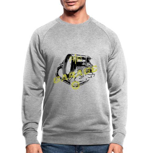 RR Garage Custom motorcycles Firenze engine logo - Felpa ecologica da uomo