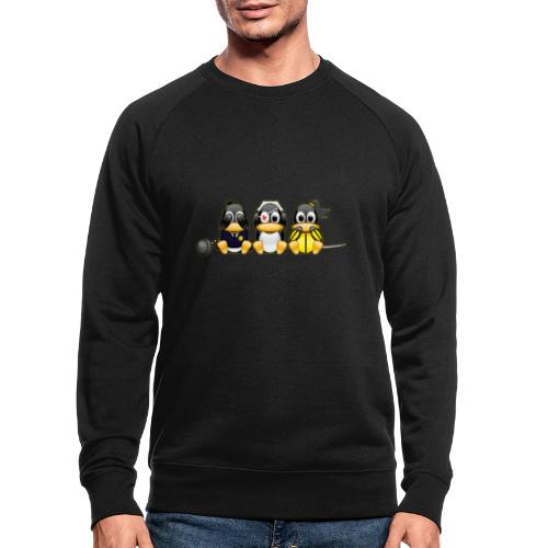 Linus v Bill - Men's Organic Sweatshirt
