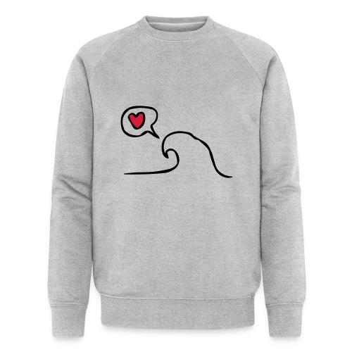 Love Wave - Mannen bio sweatshirt van Stanley & Stella