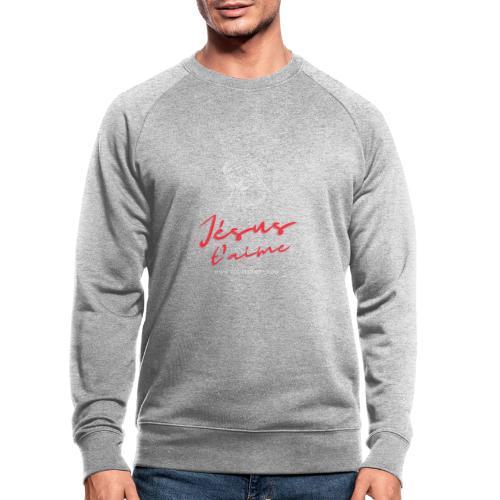 Jésus t'aime - Sweat-shirt bio