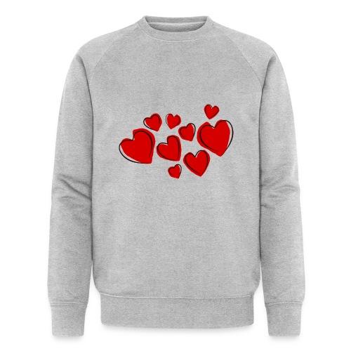 hearts herzen - Männer Bio-Sweatshirt von Stanley & Stella