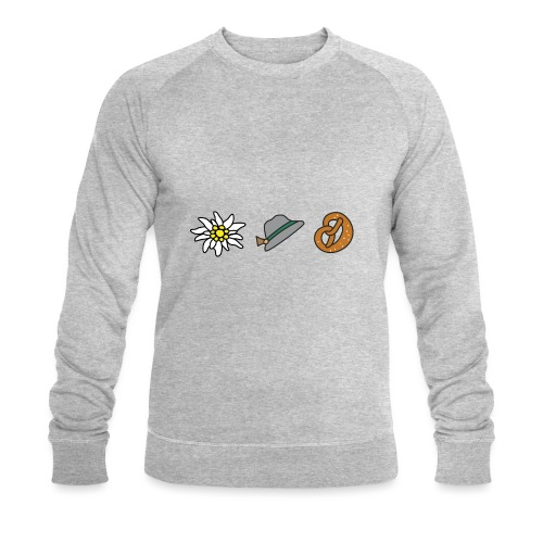 Edelweiß Trio - Männer Bio-Sweatshirt von Stanley & Stella
