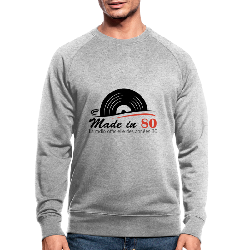 Made in 80 - Sweat-shirt bio