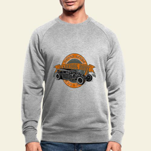 Raredog Rods Logo - Økologisk sweatshirt til herrer