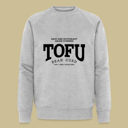 Tofu (black) - Männer Bio-Sweatshirt von Stanley & Stella