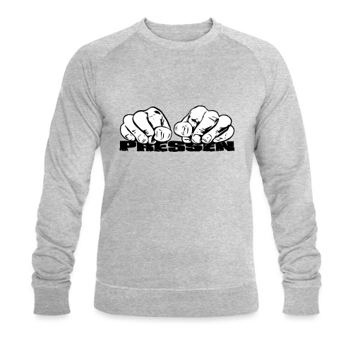 Pressen ist angesagt - Männer Bio-Sweatshirt von Stanley & Stella