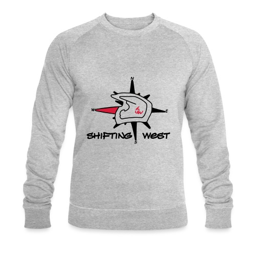 Shifting West Logo vector - Mannen bio sweatshirt