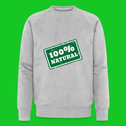 100% natural PNG - Mannen bio sweatshirt van Stanley & Stella