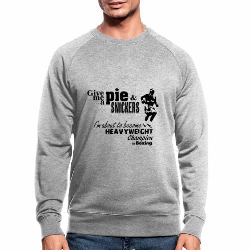 Boxing Champ - Männer Bio-Sweatshirt