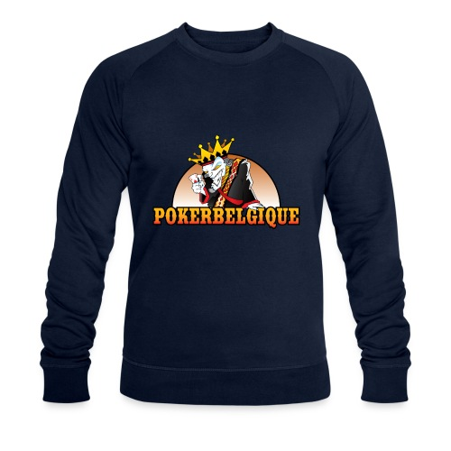 Logo Poker Belgique - Sweat-shirt bio Stanley & Stella Homme