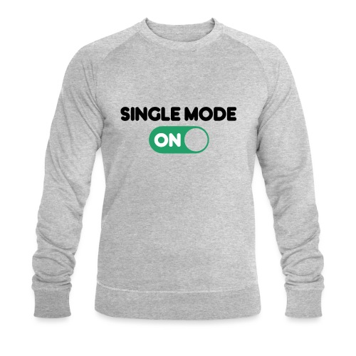 single mode ON - Felpa ecologica da uomo