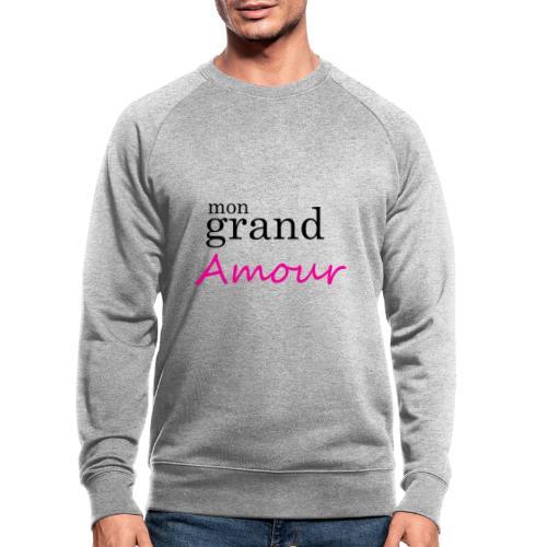 Mon grand amour - Sweat-shirt bio Stanley & Stella Homme
