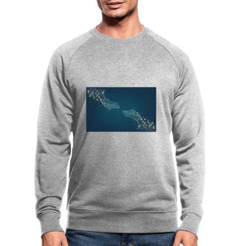 Du & Ich - Männer Bio-Sweatshirt