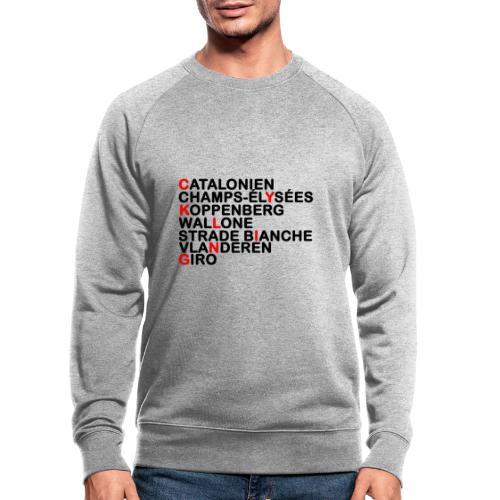 CYKLING - Økologisk sweatshirt til herrer