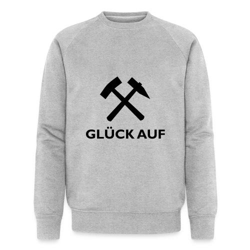 Glück Auf! - Männer Bio-Sweatshirt