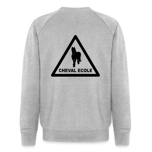chevalecoletshirt - Sweat-shirt bio Stanley & Stella Homme