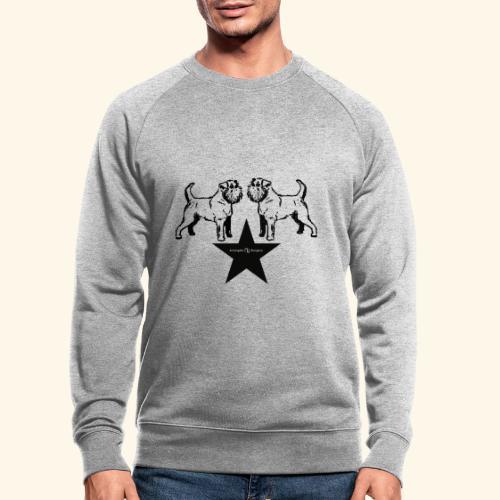 Brussels Griffon Logo - Sweat-shirt bio
