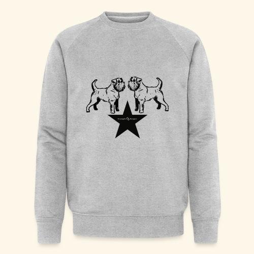 Brussels Griffon Logo - Sweat-shirt bio Stanley & Stella Homme