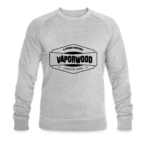VaporwoodLogo - Männer Bio-Sweatshirt