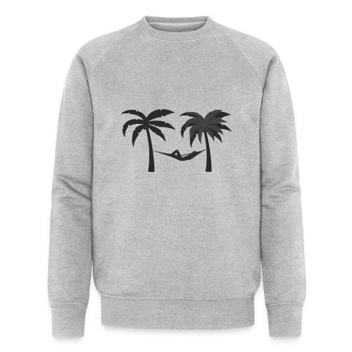 Hängematte mitzwischen Palmen - Männer Bio-Sweatshirt von Stanley & Stella