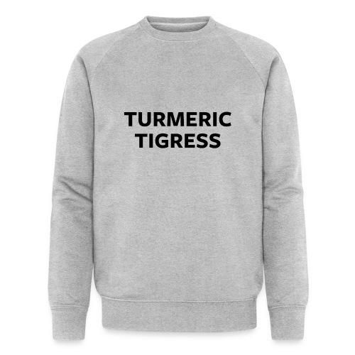 Turmeric Tigress - Men's Organic Sweatshirt by Stanley & Stella