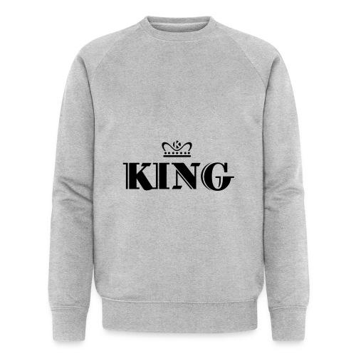 King - Männer Bio-Sweatshirt