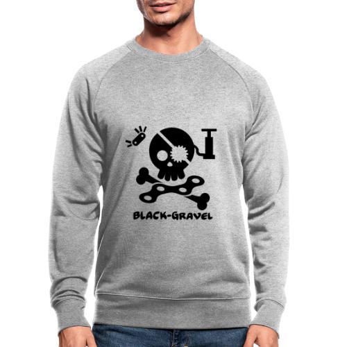 Black T-Shirts Sport - Felpa ecologica da uomo