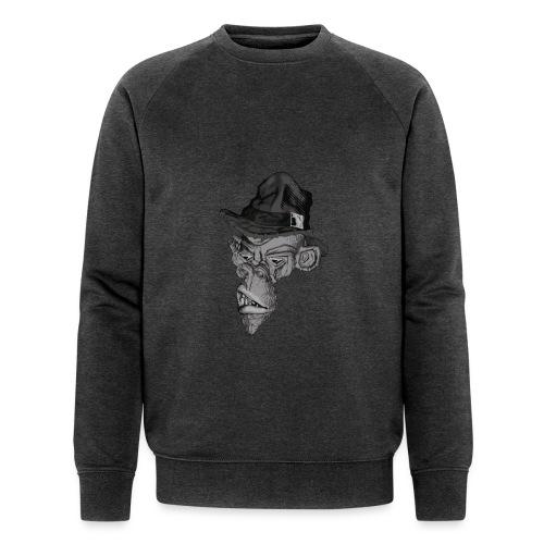 Monkey in the hat - Men's Organic Sweatshirt by Stanley & Stella