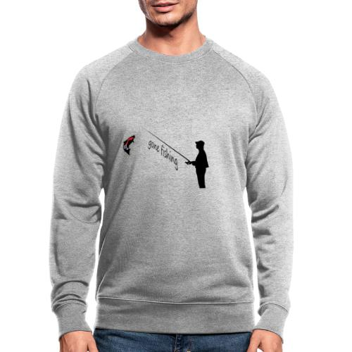 Angler - Männer Bio-Sweatshirt