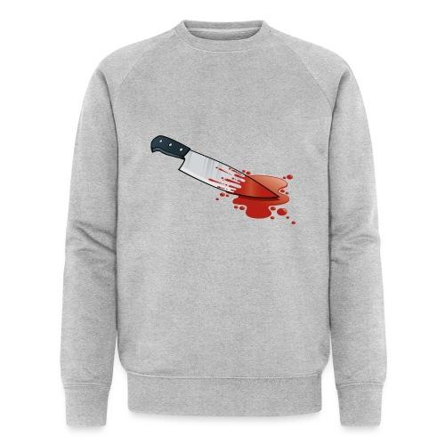 Kitchen Knife Blood - Men's Organic Sweatshirt by Stanley & Stella