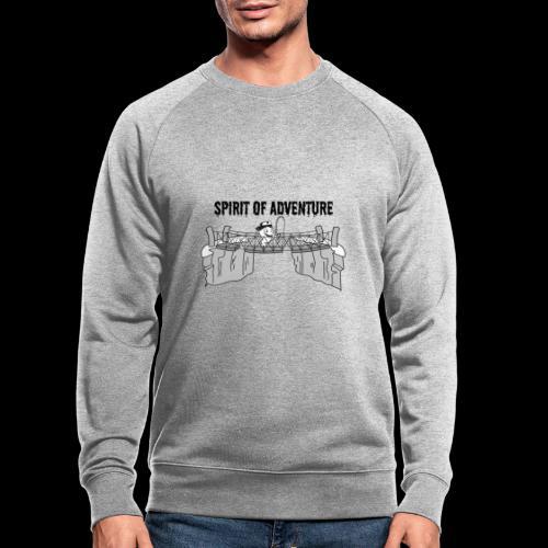 Abenteuergeist - Männer Bio-Sweatshirt