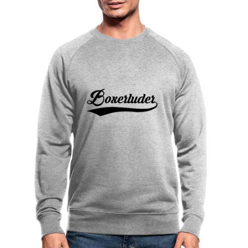 Motorrad Fahrer Shirt Boxerluder - Männer Bio-Sweatshirt