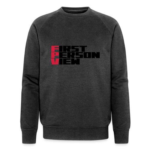 First Person View - Men's Organic Sweatshirt by Stanley & Stella