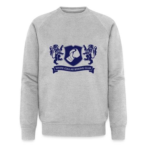 White Collar Boxing Hoodie Classic-Blue - Männer Bio-Sweatshirt von Stanley & Stella