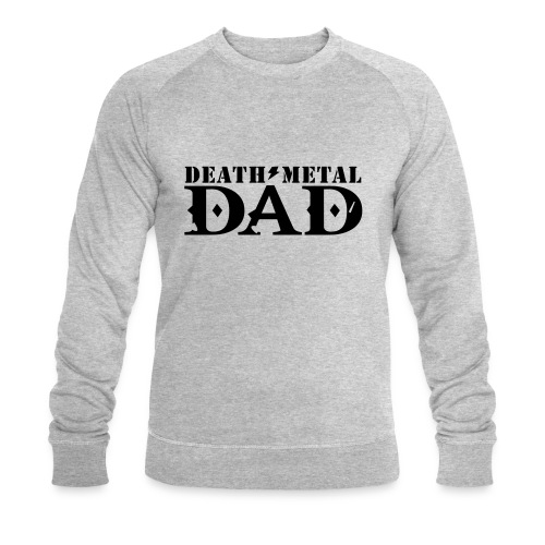 death metal dad - Mannen bio sweatshirt van Stanley & Stella