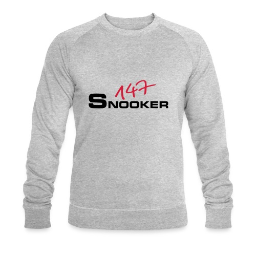 147_snooker - Männer Bio-Sweatshirt von Stanley & Stella