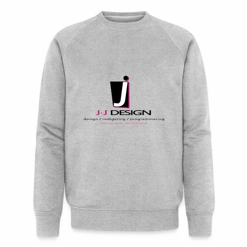 LOGO_J-J_DESIGN_FULL_for_ - Økologisk sweatshirt til herrer