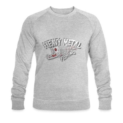heavy metal fishing white - Männer Bio-Sweatshirt von Stanley & Stella