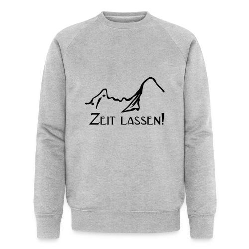 Watze-Zeitlassen - Männer Bio-Sweatshirt