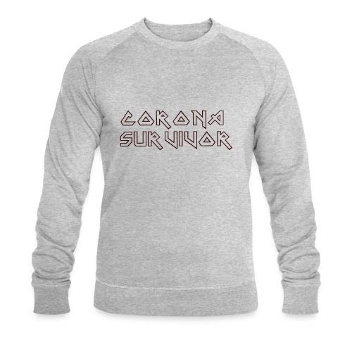 CORONA SURVIVOR COVID-19 SHIRT - Mannen bio sweatshirt van Stanley & Stella