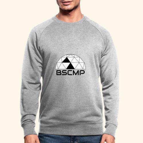 bscmp black - Mannen bio sweatshirt