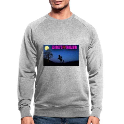 nightrider merch - Økologisk sweatshirt til herrer