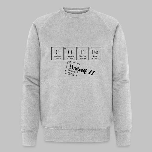 Coffee Break - Men's Organic Sweatshirt by Stanley & Stella