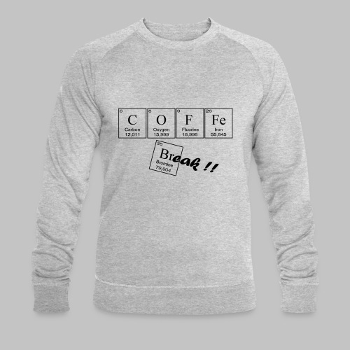 Coffee Break - Men's Organic Sweatshirt