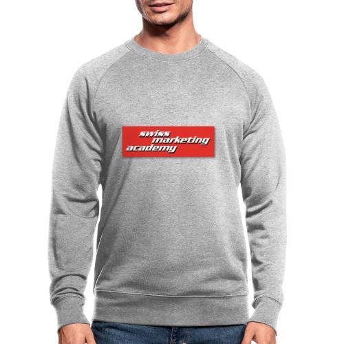 SWIMAC LOGO ROT - Männer Bio-Sweatshirt