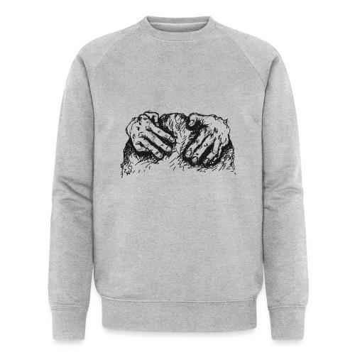 Kletterhände - Männer Bio-Sweatshirt von Stanley & Stella