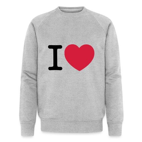 tekening - Mannen bio sweatshirt van Stanley & Stella